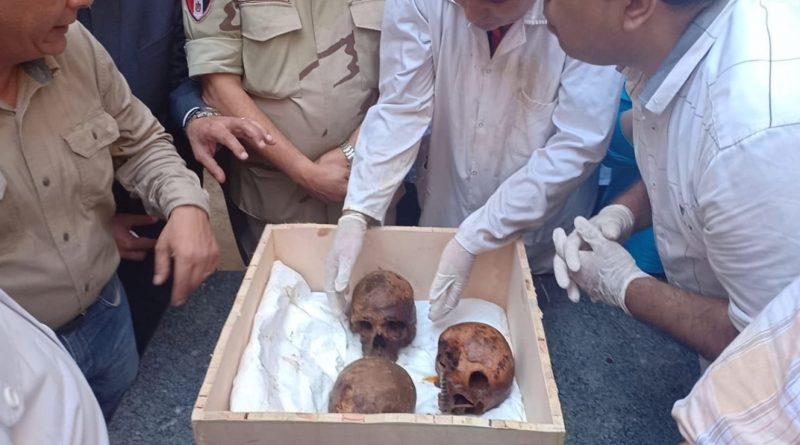 В черном саркофаге египетские ученые нашли останки трех людей